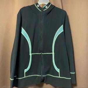 Lane Bryant Active zip up workout hoodies coat
